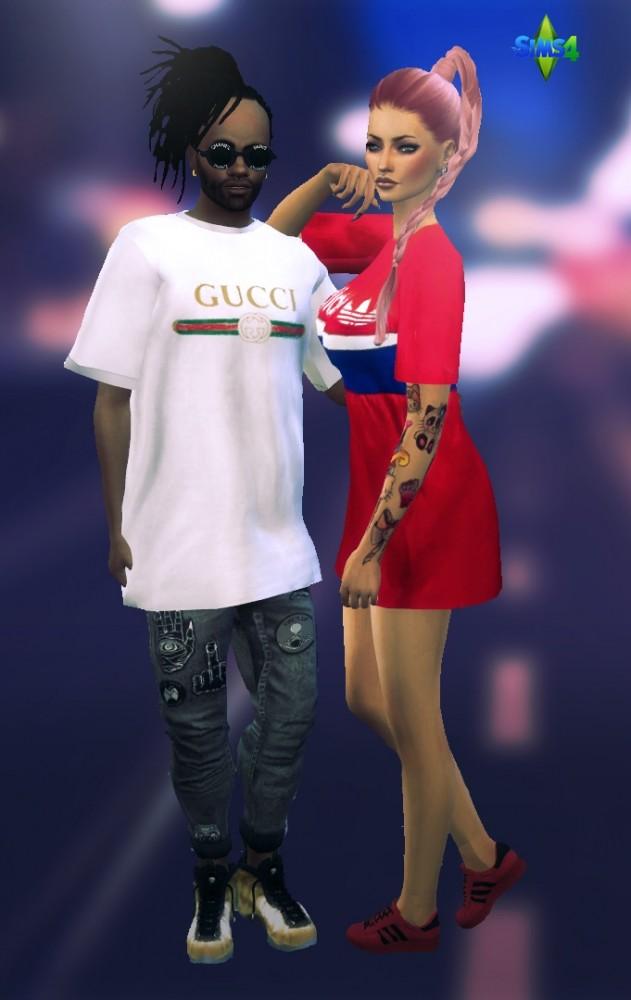 Streetwear TShirts at Rimshard Shop  Sims 4 Updates