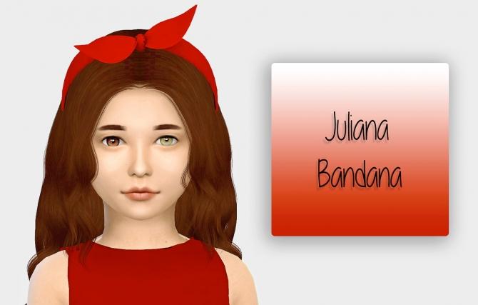 Juliana Bandana Kids Version At Simiracle Sims 4 Updates