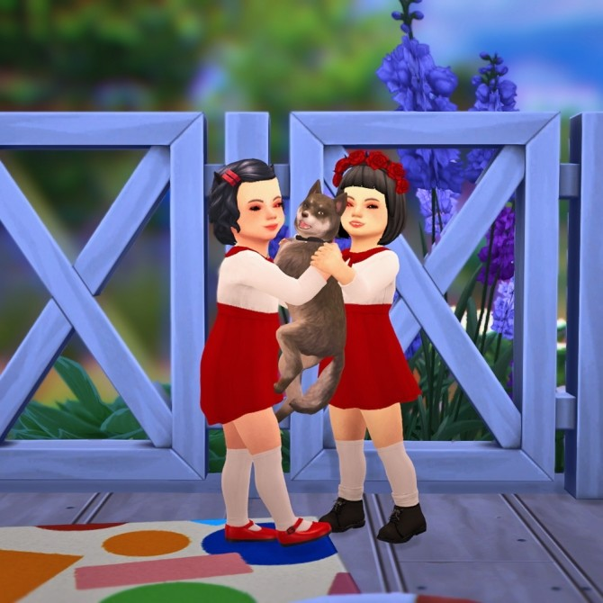 Pets Pose N01 at qvoix  escaping reality  Sims 4 Updates