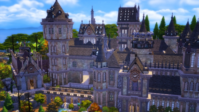 castle  Sims 4 Updates  best TS4 CC downloads  Page 2 of 10