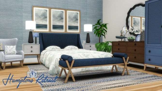Hamptons Retreat Bedroom Addon Set at Simsational Designs