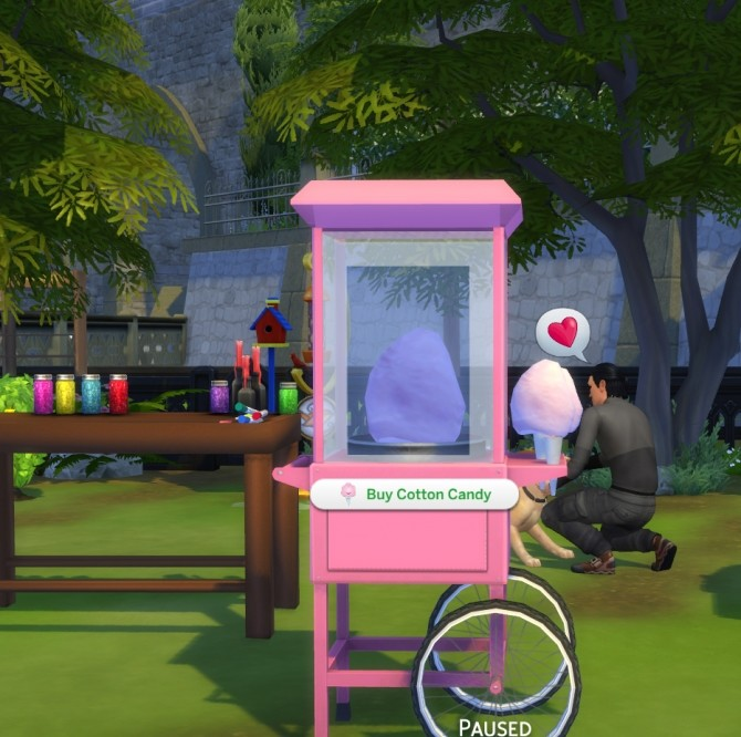 Cotton Candy Machine by icemunmun at Mod The Sims  Sims 4 Updates