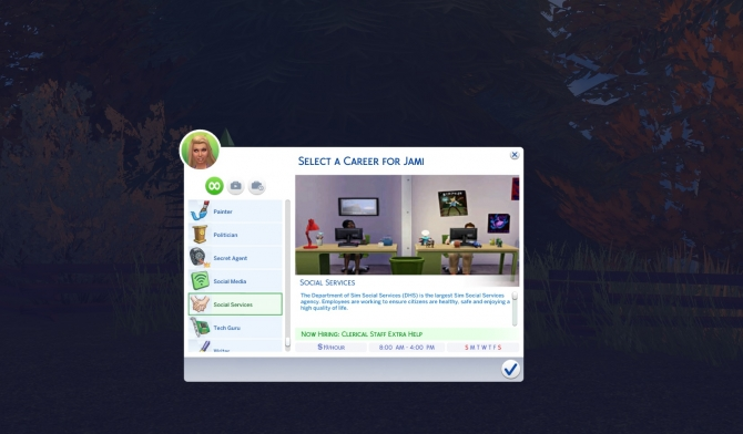 Social Services Career by missmani09 at Mod The Sims  Sims 4 Updates