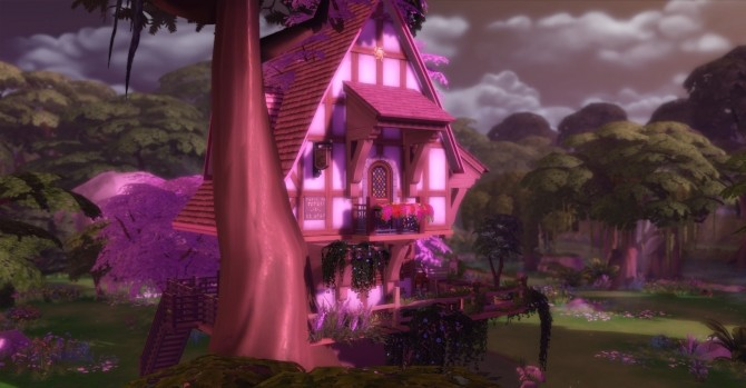 Sylvan Glade Fairy House by artrui at Mod The Sims  Sims