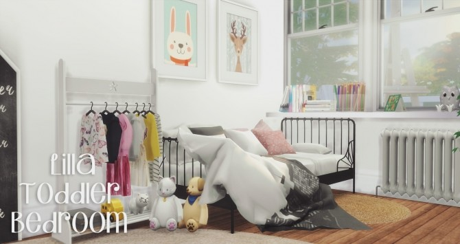 Lilla Toddler Bedroom at Pyszny Design  Sims 4 Updates