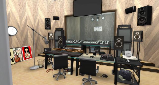 Chance Recording Studio by Rissy Rawr at Pandasht