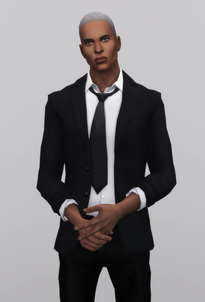 Business Suit M Separate Top at Rusty Nail  Sims 4 Updates