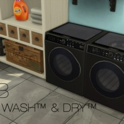 Big Lots Kitchen Appliances Buy Table Dualwash Dualdry By Littledica At Mod The Sims » 4 ...