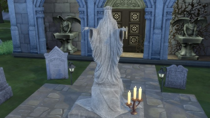 Gravestones  Mortuary Statue from TS3 by TheJim07 at Mod The Sims  Sims 4 Updates