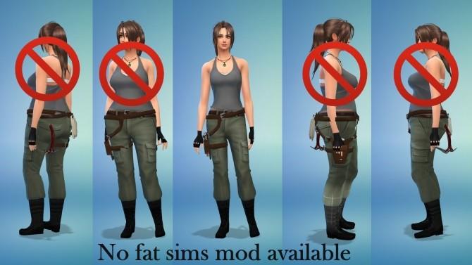 Lara Croft Tomb Raider Holster Gun Belt By Sri At Mod The