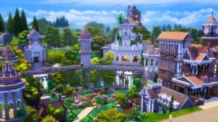 Fantasy Town at Akai Sims kaibellvert Sims 4 Updates