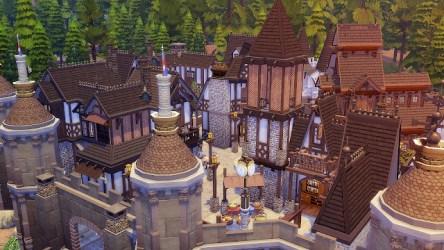Fantasy Medieval Castle at Akai Sims kaibellvert Sims 4 Updates