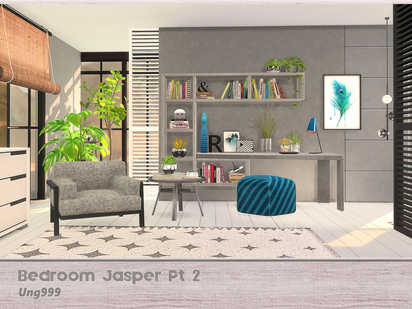 Bedroom Jasper Pt 2 By Ung999 At TSR Sims 4 Updates