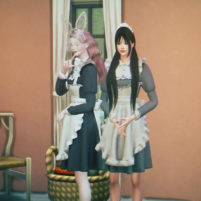 Maid Costume at SHENDORI SIMS  Sims 4 Updates