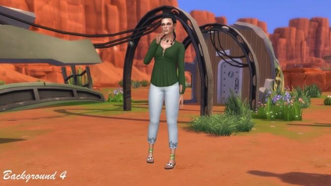 CAS Backgrounds Stranger Ville at Annetts Sims 4 Welt