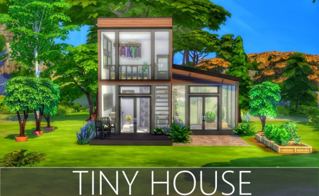 Tiny House By Summerr Plays At Tsr Sims 4 Updates