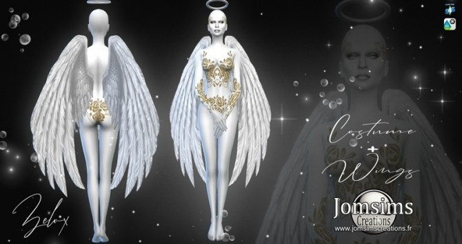 ZELOX costume at Jomsims Creations » Sims 4 Updates