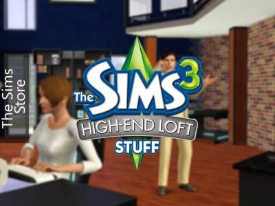 The Sims 3 High-End Loft Stuff