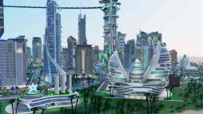 SimCity Cities of Tomorrow: Hybrid City Gallery