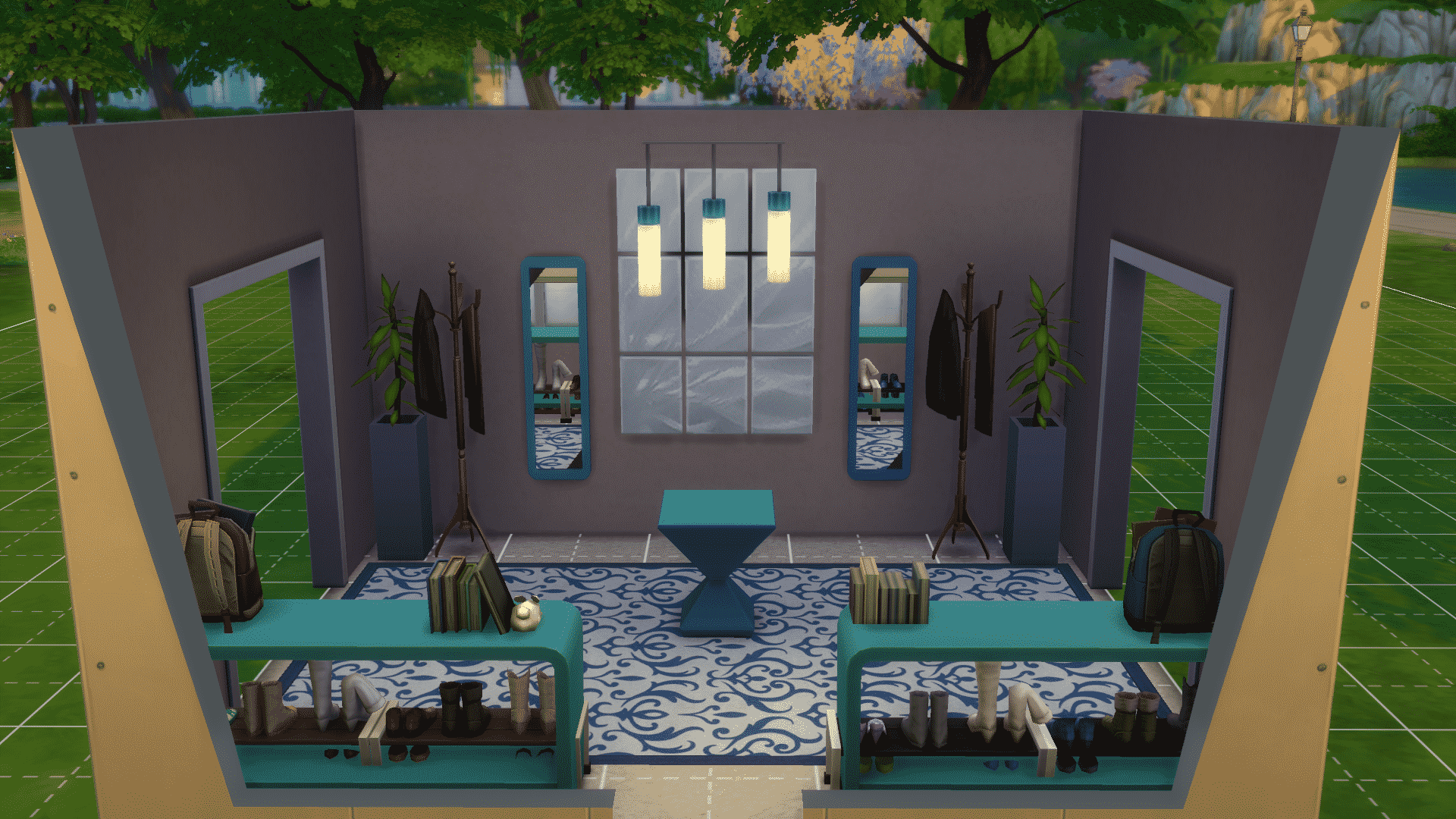 Sims 3 Interior Decorating Ideas