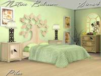 The Sims 4 Custom Content: Nature Bedroom Set