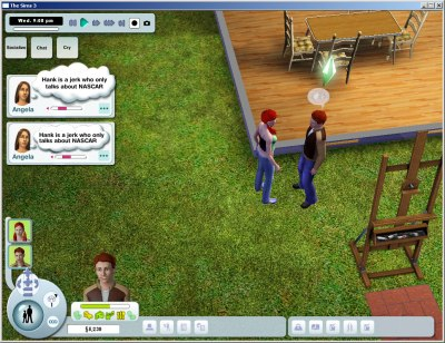 The Sims 3: Early User Interface Designs