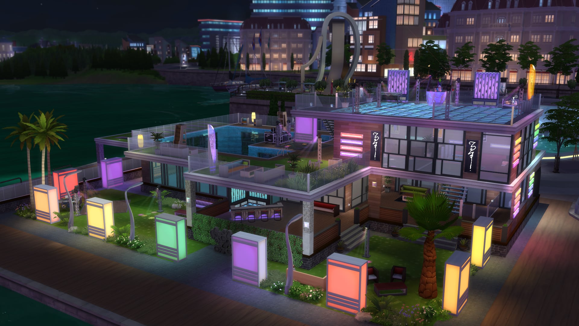 The Sims 4 Get Together Official Lots Rooms and
