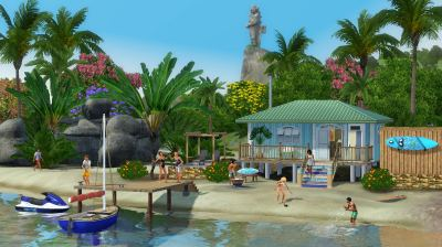 The Sims 3: Tips on how to make Island Paradise playable