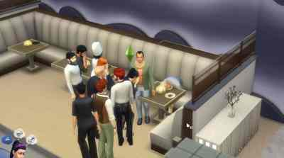 The Sims 4 City Living: Pufferfish Death Clip
