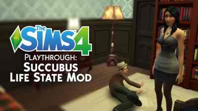 The Sims 4 Playthrough: Succubus Life State Mod