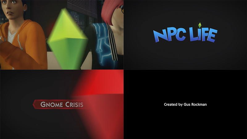 NPC Life title sequence