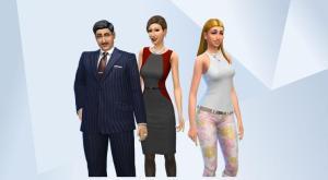 Sims 4 Alto family recreate