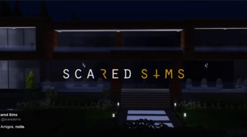 Scared Sims splash
