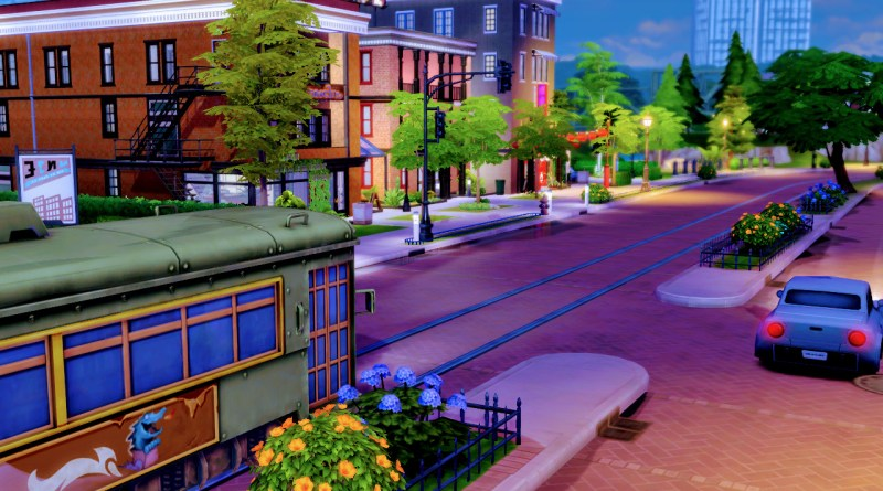 Sims 4 street car