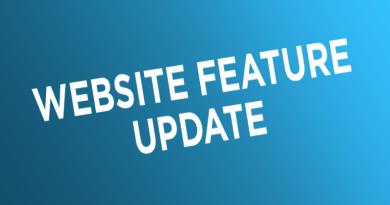 Website Feature Update