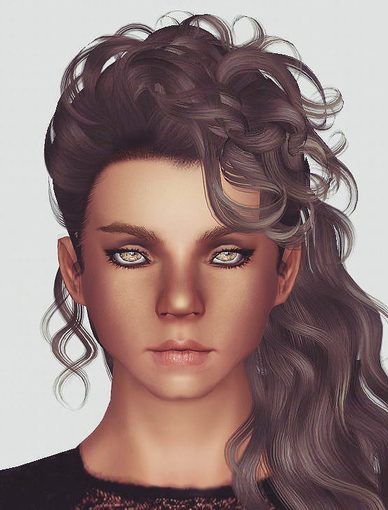 Newseas Disco Heaven Hairstyle Retextured By Momo Sims
