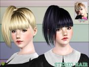 yume crazy ponytails stereo hairstyle