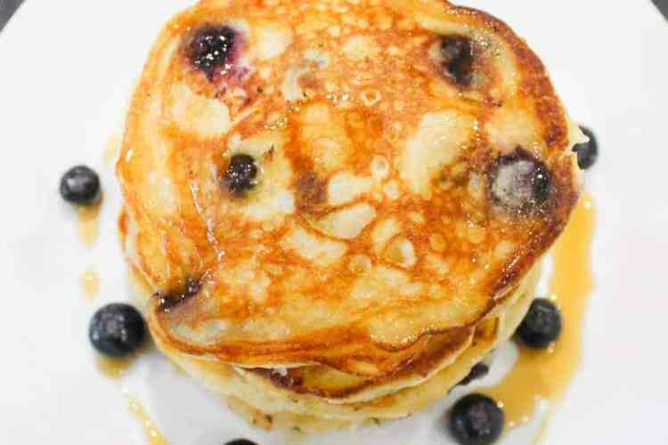 How to cook Best Blueberry Pancakes