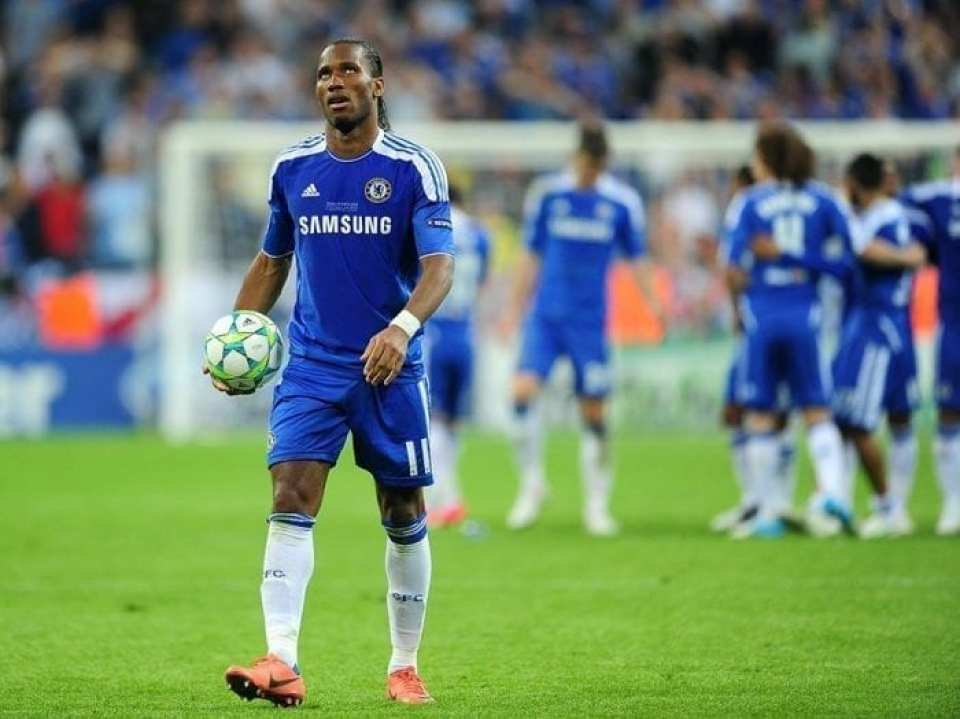 Drogba Penalty Chelsea Champions League Winners 2012