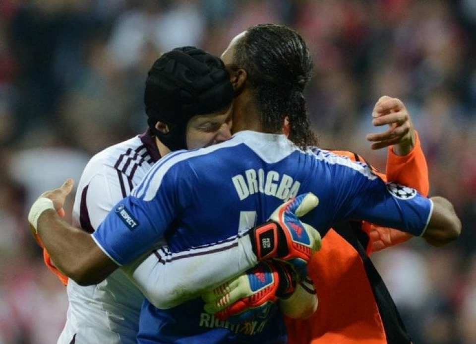 Drogba and Cech