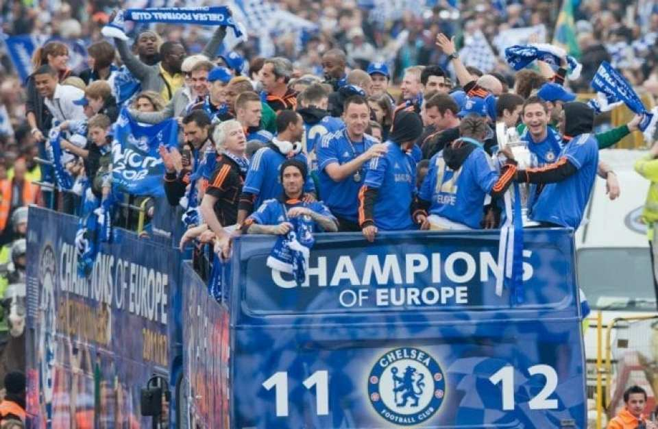 Chelsea FC Champions League Winners 2012