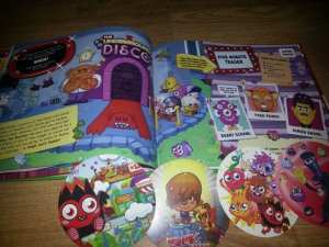 Moshi Monsters Augmented Reality Book