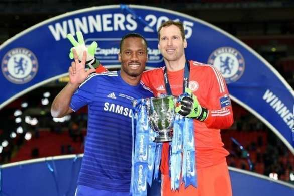 Chelsea Capital One Cup Winners 2015
