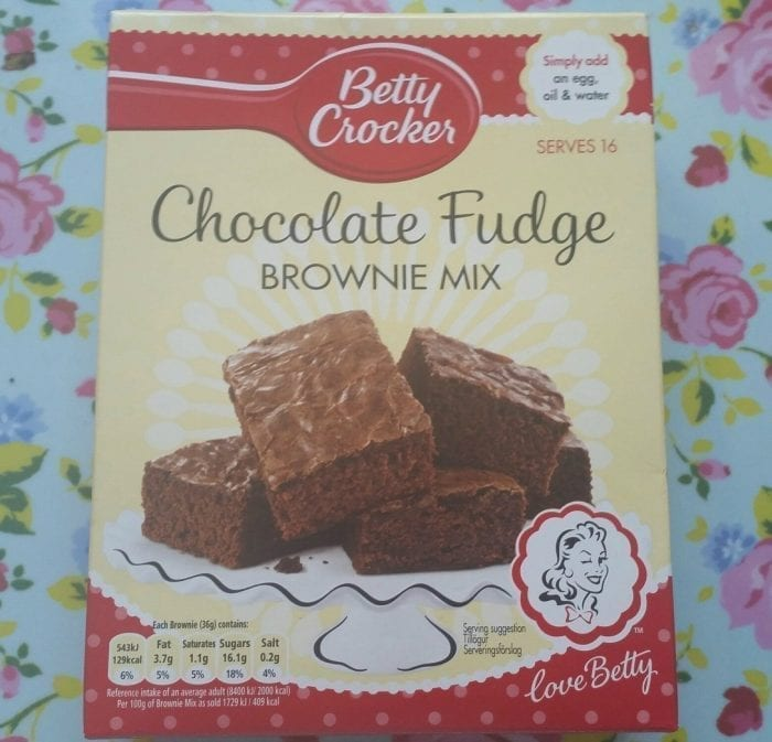 Can You Make Brownies With Betty Crocker Chocolate Cake Mix