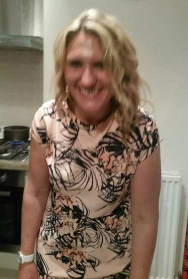 Fits of giggles - but there is the dress as proof I wore one!