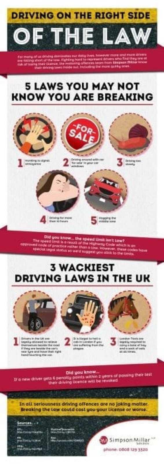 Weird driving laws