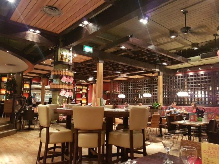 Las Iguanas Deansgate Manchester Restaurant