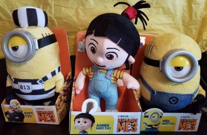 Despicable Me 3 Toys