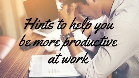 Stuck in a work rut hints