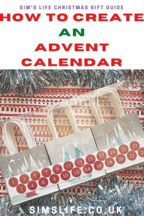 How to create an advent calendar